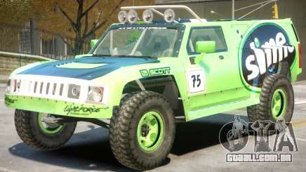 Hummer H3 V1 PJ7 para GTA 4