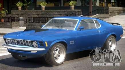 Ford Mustang BB para GTA 4