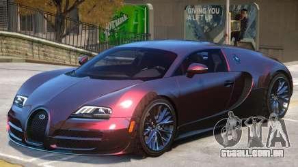 Bugatti Veyron V1 para GTA 4