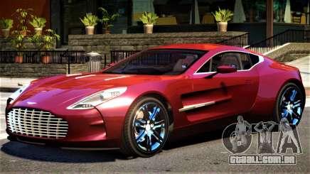 Aston Martin One 77 V1.1 para GTA 4