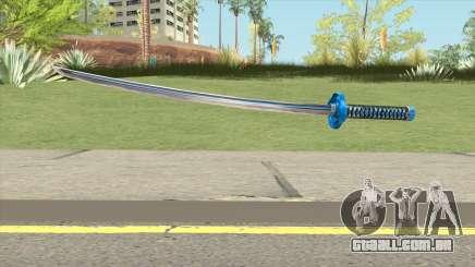 Blue Katana para GTA San Andreas