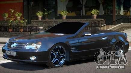 Mercedes SL500 Cabrio para GTA 4