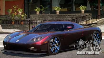 Koenigsegg CCXR M7 para GTA 4