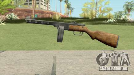 PPSH-41 Submachine Gun (WW2) para GTA San Andreas