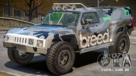 Hummer H3 V1 PJ4 para GTA 4