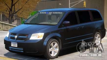 Dodge Caravan FBI para GTA 4