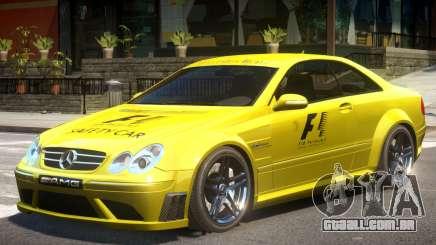 Mercedes CLK63 AMG V1 PJ1 para GTA 4