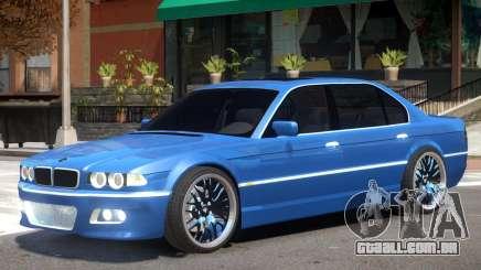 BMW E38 V1 para GTA 4