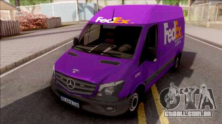 Mercedes-Benz Sprinter FedEX para GTA San Andreas