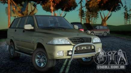 SsangYong Musso 2.3 para GTA San Andreas