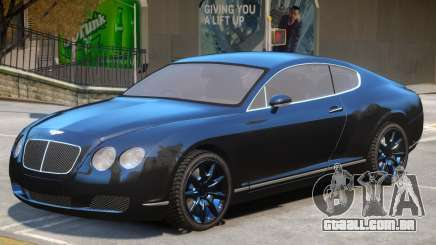 Bentley Continental GT V1 para GTA 4