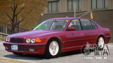1999 BMW E38 V1 para GTA 4