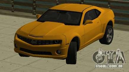 Chevrolet Camaro SS 2010 Yellow para GTA San Andreas