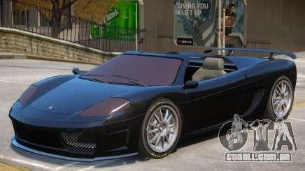 Grotti Turismo Roadster para GTA 4