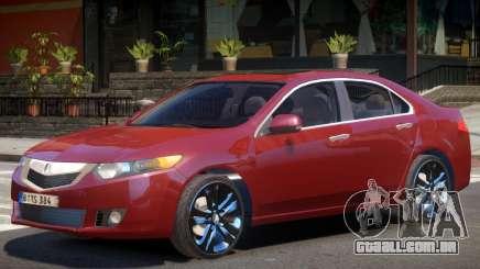 Acura TSX Y11 para GTA 4