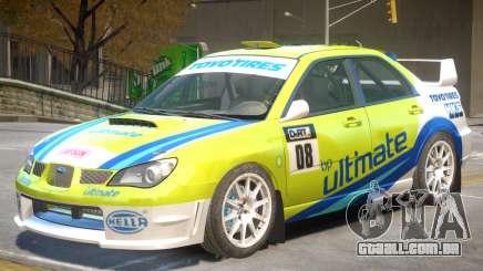 Subaru Impreza WRX V1 PJ6 para GTA 4