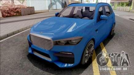 GTA V Ubermacht Rebla GTS Stock IVF para GTA San Andreas