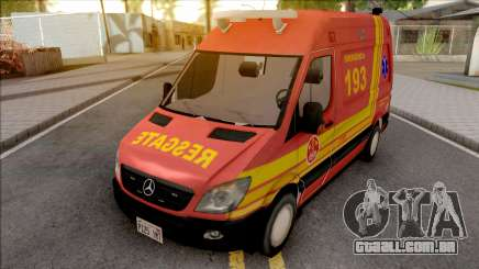 Mercedes-Benz Sprinter 2013 Ambulancia v2 para GTA San Andreas
