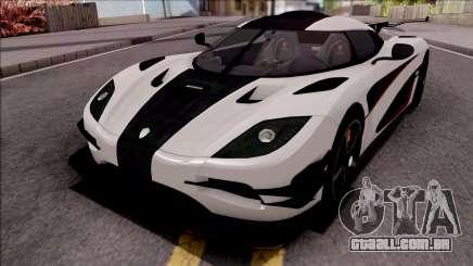 Koenigsegg One:1 2014 Lowpoly para GTA San Andreas