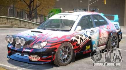 Subaru Impreza WRX V1 PJ1 para GTA 4