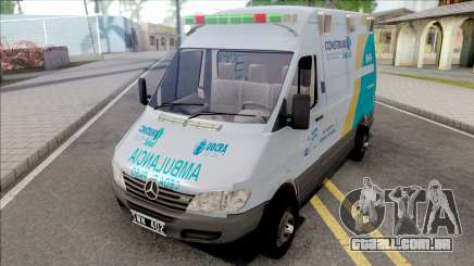Mercedes-Benz Sprinter Ambulancia Uocra para GTA San Andreas