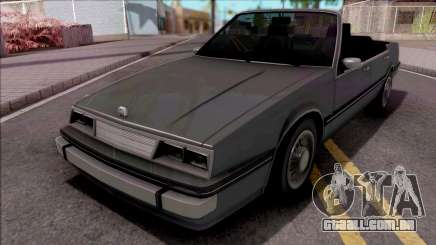 GTA IV Willard Cabrio para GTA San Andreas