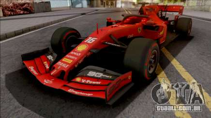 Ferrari SF90 F1 2019 Low Poly para GTA San Andreas