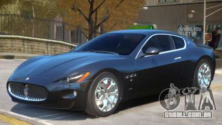 Maserati Gran Turismo S V1 para GTA 4