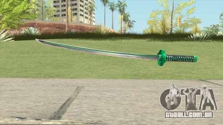 Green Katana para GTA San Andreas
