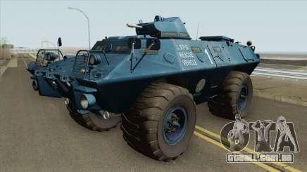 Cadillac V-100 Gage Commando (LSPD) para GTA San Andreas