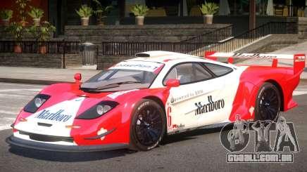McLaren F1 V1.1 PJ5 para GTA 4