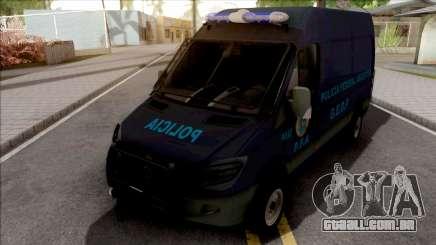 Mercedes-Benz Sprinter Policia Federal Argentina para GTA San Andreas