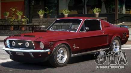 Ford Mustang Fastback para GTA 4