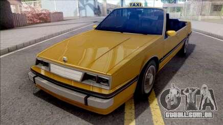 GTA IV Willard Cabrio Taxi para GTA San Andreas