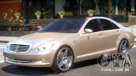 Mercedes W221 R1 para GTA 4