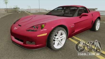 Chevrolet Corvette Z06 IVF para GTA San Andreas