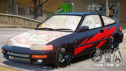 1992 Honda CRX V1 para GTA 4