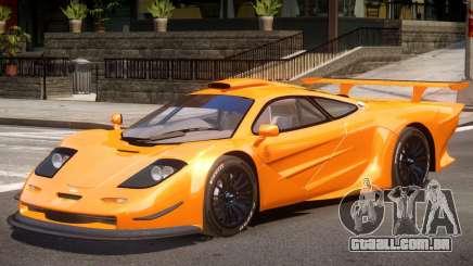 McLaren F1 V1.1 para GTA 4