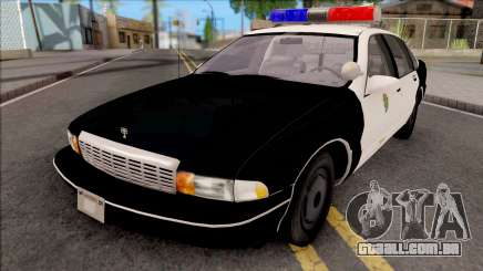 Chevrolet Caprice Resident Evil 3 Remastered para GTA San Andreas