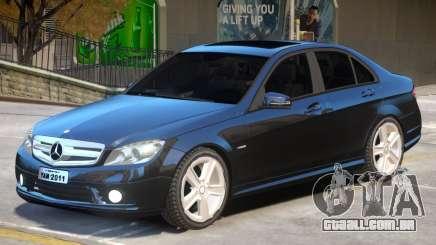 Mercedes C180 V1 para GTA 4