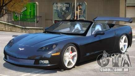 Corvette C6 Roadster para GTA 4