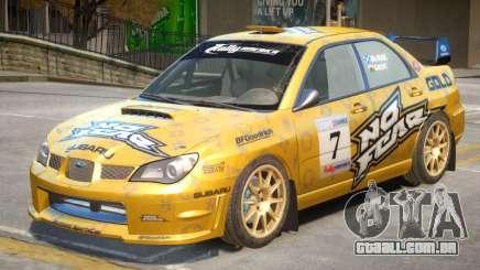 Subaru Impreza WRX V1 PJ5 para GTA 4