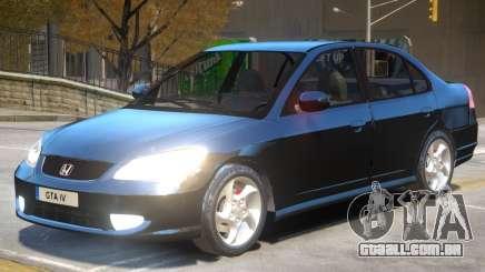 Honda Civic Stock para GTA 4