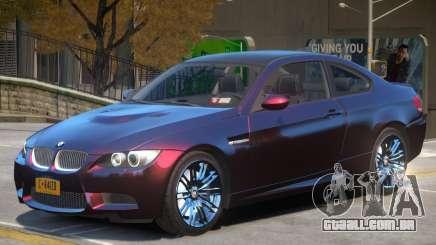 BMW M3 E92 Improved para GTA 4