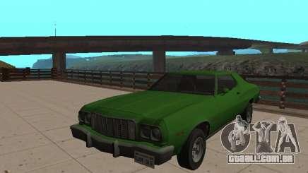 Ford Gran Torino De 1974 Verde para GTA San Andreas