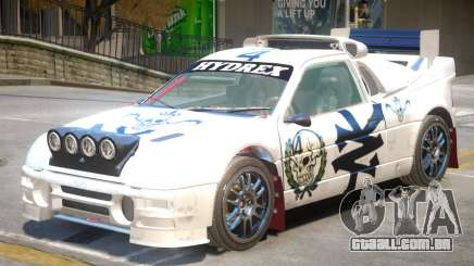 Ford RS200 Drift V1 PJ3 para GTA 4