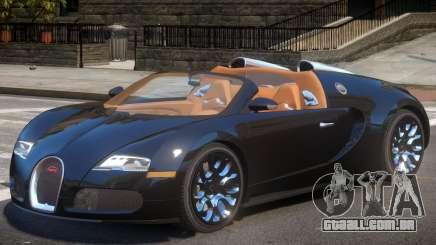 Bugatti Veyron Spider para GTA 4