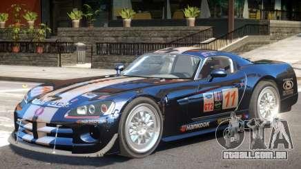 Dodge Viper V1.2 PJ1 para GTA 4