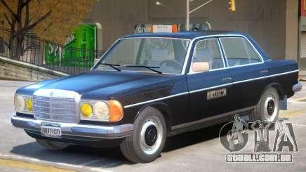 Mercedes Benz 230 V1 Taxi Car para GTA 4