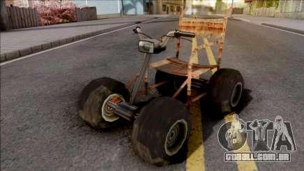 Wheelchair Mod para GTA San Andreas